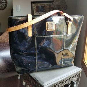 Dooney & Bourke Patent Leather Lexington Shopper
